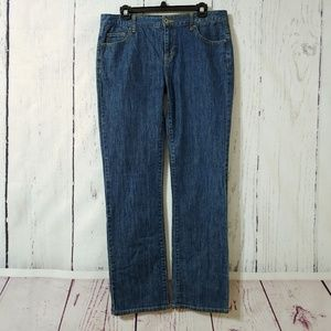 Nautica Pacific Fit Straight Leg Jeans